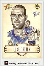 2009 Select NRL Champions Star Sketch Card SK4 Luke Patten (Bulldogs)