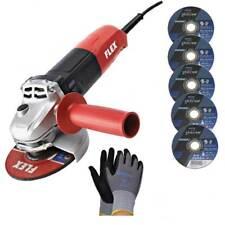 Flex - Winkelschleifer L 1001 125mm Scheibe, 1010 Watt+5 Trennscheiben+Hands.