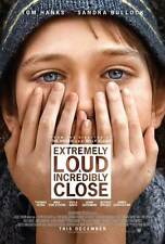 EXTREMELY LOUD AND INCREDIBLY CLOSE Movie POSTER 27x40 Tom Hanks Sandra Bullock