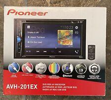 "NEW! Pioneer DVD Receiver 6.2"" WVGA Bluetooth & Remote Control AVH-201EX"