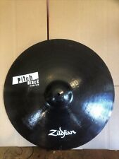 "Zildjian Pitch Black 22"" Ride Cymbal Great Condition! No cracks or corrosion!"