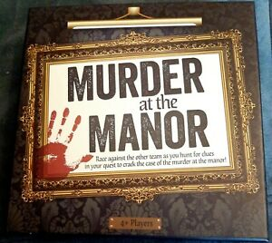 Murder at the Manor, Murder Mystery Game.