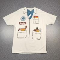 Vintage 80s REGISTERED PHARMACIST Mens T Shirt XL | Single Stitch Hanes