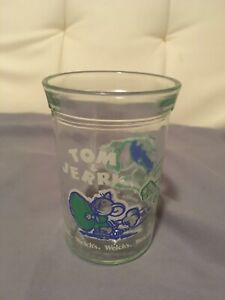 Vintage 1991 Welch's Tom & Jerry Jelly Glass Cup 4 inch