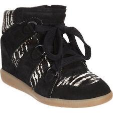 Isabel Marant Zebra Print Pony Hair Blossom Sneaker Size 39 - Worn Once