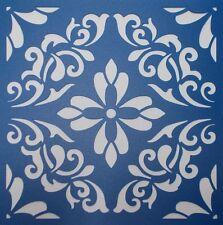 Scrapbooking - STENCILS TEMPLATES MASKS SHEET - Mandala 02 Stencil