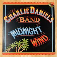 The Chalie Daniels Band - Midnight Wind - Vinyl Record LP 1977 Epic PE 34970