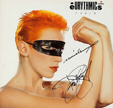 THE EURYTHMICS Signed 'Touch' Photograph - Pop Duo LENNOX / STEWART - preprint