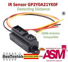 IR Sensor GP2Y0A21YK0F Measuring Detecting Distance Sensor 10 to 80cm with Cable