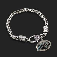 Carolina Panthers NFL Football Charm Dangle Women's Fashion Clasp Bracelet