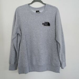 The North Face Gray Long Sleeve Pullover Sweatshirt NWT - Women's Size Large