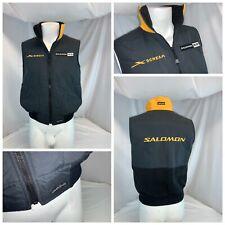 Salomon Scream Chuck Roast Ski Vest Jacket M Women Black Usa Mint Ygi D0-210