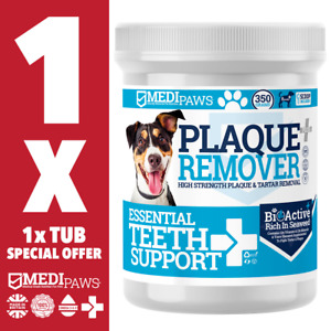 MediPaws® Plaque Remover For Dogs x1 | Natural Dental Supplement for Pets | 350g