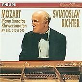 "CD PHILIPS 422 583-2 Mozart ""Piano Sonatas KV 282, 310 & 545"" Sviatoslav Richter"
