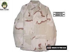 US Army 3 color desert DCU Jacke Jacket Coat Small Regular