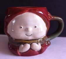 2010 Target Home Ceramic Holiday Christmas Child Mittens Red Mug 16oz 2 cups