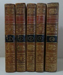 LAHARPE Correspondance littéraire Empereur de Russie 6/6 EO 1801-1807 Migneret