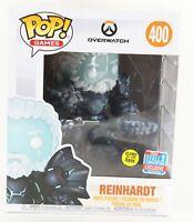 """Funko POP Games Overwatch #400 Reinhardt 8"""" Vinyl Figure 1031T"""