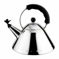 Alessi Bird Whistle Hob Kettle - Black