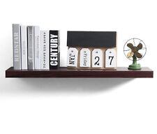 Wandregal Bücherregal CD Regale Regalboden MDF Holz dunkles Holzdekor RG9238dc