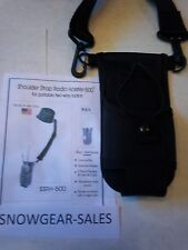 Shoulder Strap radio, tool harness. For PRO and UHF 2 way radios.SSRH500