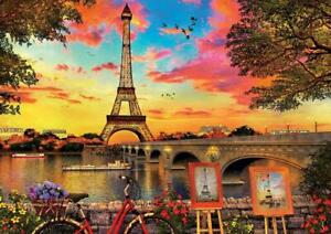 Educa Sunset in Paris Jigsaw Puzzle (3000 Pieces)