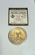 Michael Jordan Bronze Mint Coin 1995 Upper Deck Limited Edition 07863