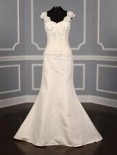 Monique Lhuillier Guilana Lace Corset Estelle Skirt Wedding Dress 2 Piece 10