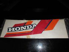 NOS HONDA OEM 79-85 Honda ATC110 A FUEL TANK Decal Graphic 87123-943-800ZB