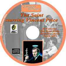 The Saint starring Vincent Price CD 88 OTR  Old Time Radio Episodes Audio MP3