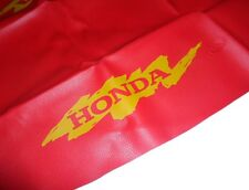 SEAT COVER HONDA NX 650 DOMINATOR, RED & YELLOW!!! SHIPPING WORLWIDE