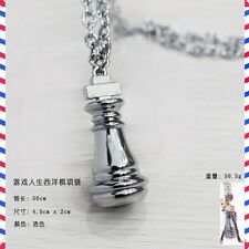 CIONDOLO NO GAME NO LIFE COLLANA NECKLACE ANIME MANGA NGNL SORA SHIRO COSPLAY #1