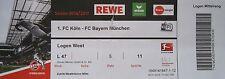 VIP TICKET Loge BL 2016/17 1. FC Köln - Bayern München