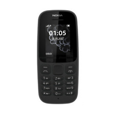 BRAND NEW NOKIA 105 SIM-FREE 1.8 INCH MOBILE PHONE - 2017 EDITION - BLACK