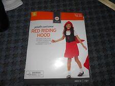 Youth Little Red Riding Hood Small S Halloween Costume New NIB Halloween Child
