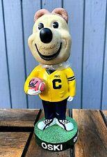 Oski Football Bobblehead Cal Berkeley University Mascot Rare Bobble 2001 NIB