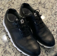 FootJoy Mens Dryjoys Spikeless Golf Shoes Black Size 12 (12M) Barely Worn 53697