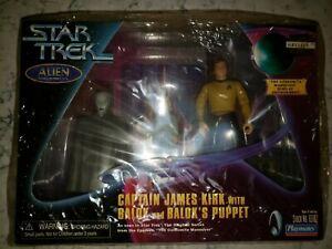 Star Trek Alien Series Action Figures Capt. Kirk Balok & Balok's Puppet SEALED