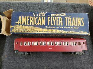 American Flyer 955,951 VIntage S American Flyer Lines Passenger Cars Box