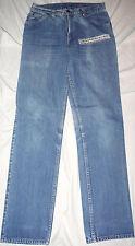 Vintage Mens Levis Faded Blue 30 X 33 Talon 42 Zip Straight Leg Denim Jean