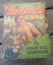 TARZAN'S REVENGE Big Little Book  1488 from 1938 EDGAR RICE BURROUGHS