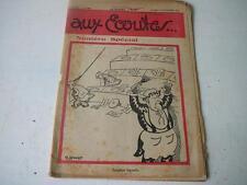 Aux Ecoutes 6 decembre 1930 journal N° 655 troubles digestifs