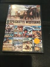 SPAGHETTI WESTERNS 8 FULL MOVIES DVD , SUNDANCE CASSIDY,BLOOD MONEY,WANTED
