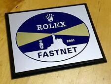 ROLEX Fastnet offshore Corsa 2001 Display PLACCA Submariner Yacht-Master d'altura