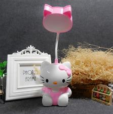 Fashion Cartoon Lovely HelloKitty USB Desk Table Night Light Lamp Mirror Comb