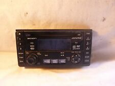 04-07 Scion Alpine Sat Ready Radio Cd Dvd Mp3 WMA Face Plate 08600-52838 AB22220