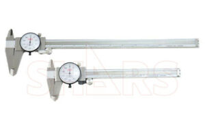 """SHARS 6"""" & 12"""" Stainless Dial Caliper Combo NEW P}"""
