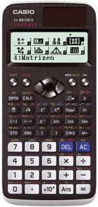 Casio fx-991 DE X ClassWiz Schulrechner hochauflösendes LC-Display Solar NEUHEIT