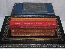 Easton Press Treasures of the Library of Congress 8 vols Lincoln EMANCIPATION