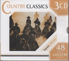 """Country Classics """"Various Artists"""" 3CD Set NEW & SEALED 48 Tracks 1st Class Post"""